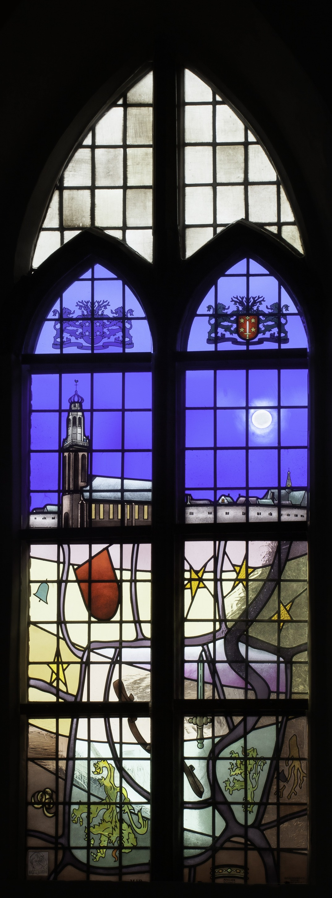 Middelburg Archives - Glas in lood Atelier SchmitGlas in lood ...