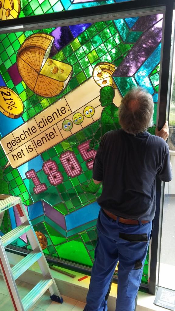 glasinloodraam Archives - Glas in lood Atelier SchmitGlas in lood ...