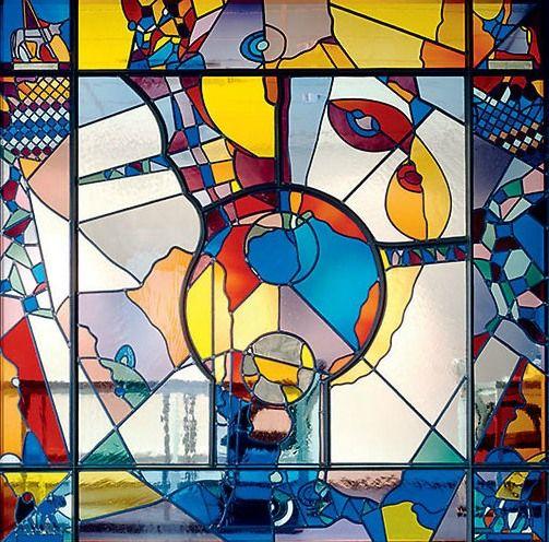 glas in lood ontwerp bert grotjohan
