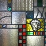glas in lood raam eigen ontwerp figuurglas gebrandschilderd stainedglass windows design
