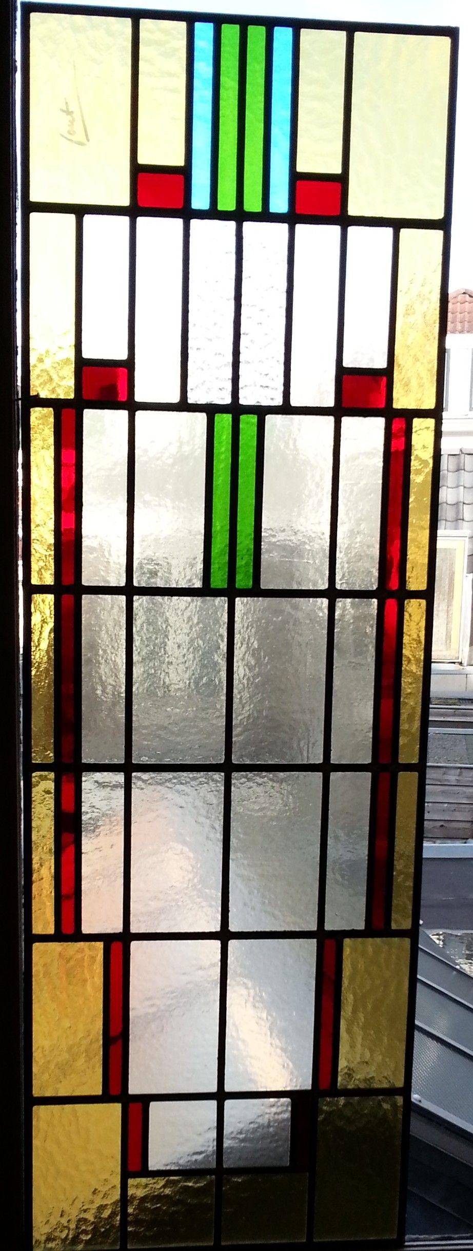glas in lood zijlicht deur   Glas in lood Atelier SchmitGlas in lood Atelier Schmit